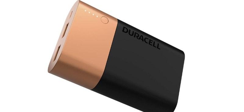 Kicsit elaludt a Duracell, de végül csak előállt egy használható külső akkumulátorral